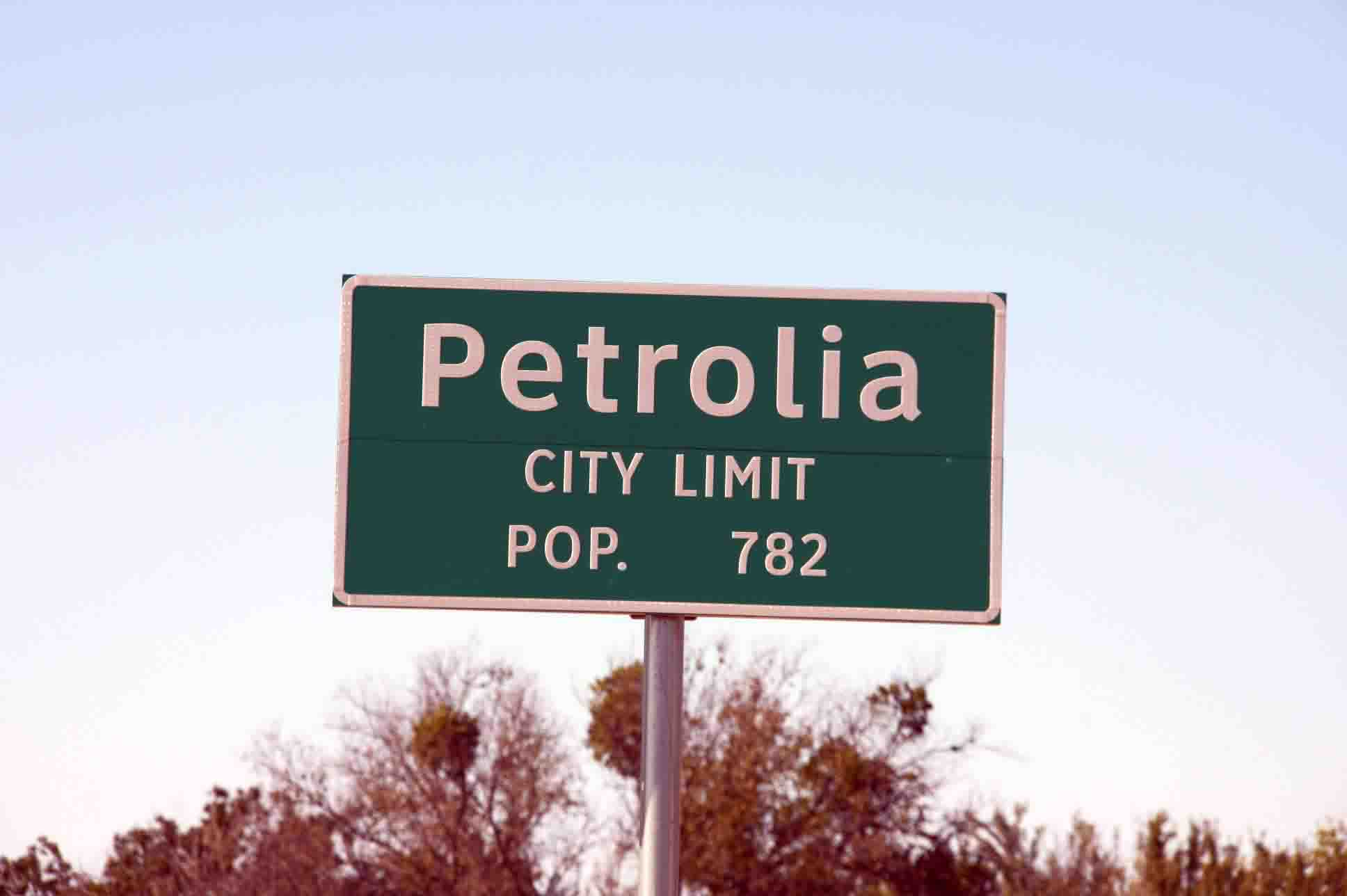 Petrolia City Limits